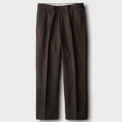 PHIGVEL - LINEN WIDE TROUSERS