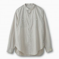 PHIGVEL - NAVAL BAND COLLAR SHIRT