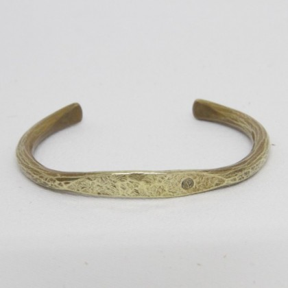 The superior labor - flat face bangle