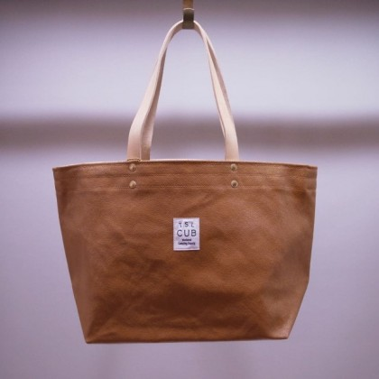 THE SUPERIOR LABOR / paint tote S (LIGHT KHAKI)