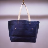 THE SUPERIOR LABOR / paint tote S (NAVY)