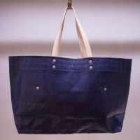 THE SUPERIOR LABOR / paint tote L (NAVY)