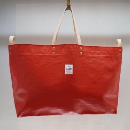 THE SUPERIOR LABOR / paint tote XL (RED)
