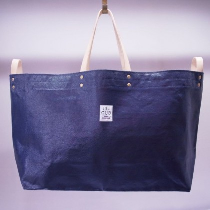 THE SUPERIOR LABOR / paint tote XL (NAVY)
