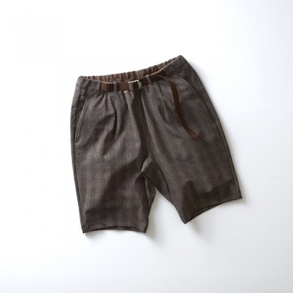 "CURLY - BRIGHT EZ SHORTS  ""GLEN CHECK"""