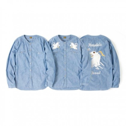PIG&ROOSTER - DA CHAMBRAY SHIRT