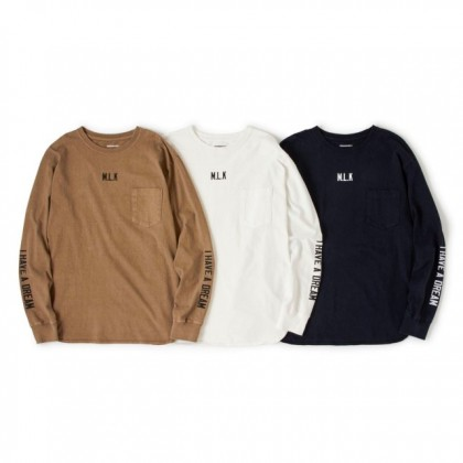 PIG&ROOSTER - MLK-LONG SLEEVES-T