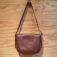 ・The superior labor / hobo bag BROWN S
