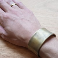 THE SUPERIOR LABOR / wide bangle