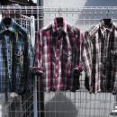 WASTE (TWICE) / CHEACK FLANNEL OUTING SHIRT