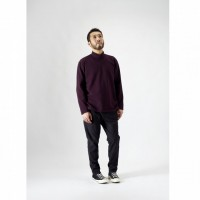 CURLY - STATIC LS MOCK NECK