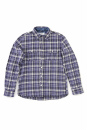 Sandinista / Farmonte Tack Button Check Shirt