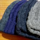 WASTE (TWICE) / CABLE KNIT CAP