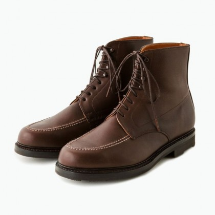 PHIGVEL フィグベル - TANKER BOOTS BROWN