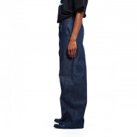 LANDROAD / COLOR DENIM BAGGY PANT
