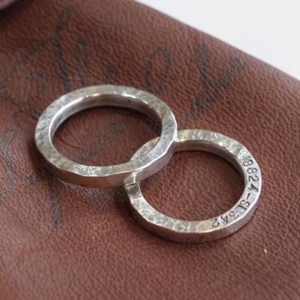 THE SUPERIOR LABOR / silver flat ring