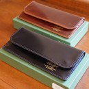The superior labor/  cordovan long wallet